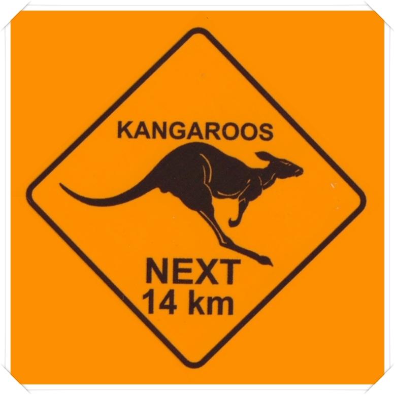 Kanguru Stickers